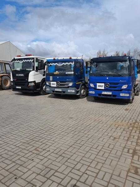 kontener na ciężarówce 3
